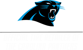 Official Tire Retailer of the Carolina Panthers!